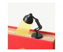 Marcador de Página Estilo Luminária - Estudos Estudante Leitura Marca Página - Imagem 5/5