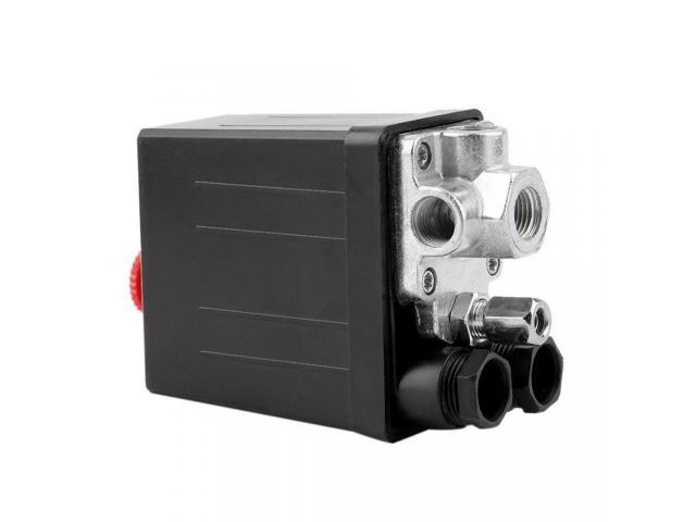 Pressostato Pressiostato Válvula De Controle Do Interruptor 90psi-120psi - 2/6