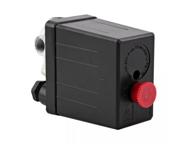 Pressostato Pressiostato Válvula De Controle Do Interruptor 90psi-120psi - 3/6