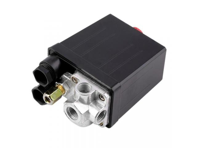 Pressostato Pressiostato Válvula De Controle Do Interruptor 90psi-120psi - 4/6
