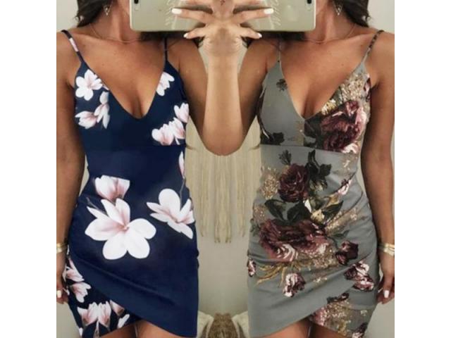 Mini Vestido Alcinha Sexy Praia Verão - 2/6