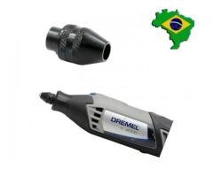 Mini Mandril Aperto Rápido p Microretífica Micro Retífica Dremel Séries 3000/4000