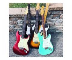 Kit Capa Knob P/ Captadores Potenciômetro e Ponteira de Alavanca Padrão Stratocaster - Imagem 4/5