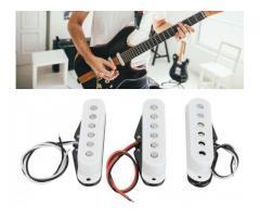Captador Trio Braço Meio Ponte para Guitarra Single Coil Stratocaster Etc