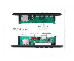 Placa Decodificadora WMA/MP3 Veicular/Bluetooth 5 0/USB s/ Fio