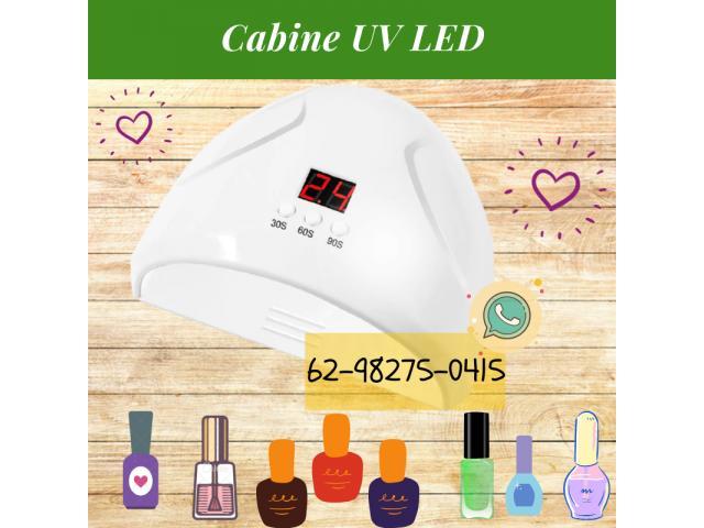 Cabine UV LED 36W com Timer para Unha Gel - 1/3