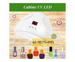 Cabine UV LED 36W com Timer para Unha Gel