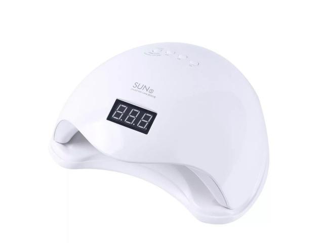 Cabine UV LED 48W com Timer para Unha Gel Acrigel Fibra etc - 3/4