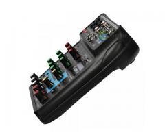 Mesa de Som Bluetooth Interface de Áudio 4 Canais Phantom Power 48v Karaokê  Efeitos - Imagem 4/6