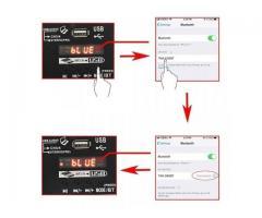 Mesa de Som Bluetooth Interface de Áudio 4 Canais Phantom Power 48v Karaokê  Efeitos - Imagem 6/6