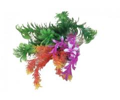 Planta Artificial de Plástico para Decoração de Aquário