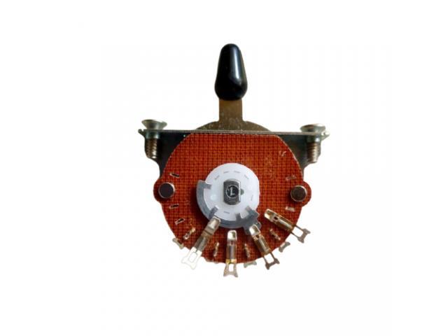 Chave Seletora Telecaster 3 Posições Oak Grigsby Padrão Fender - 1/5