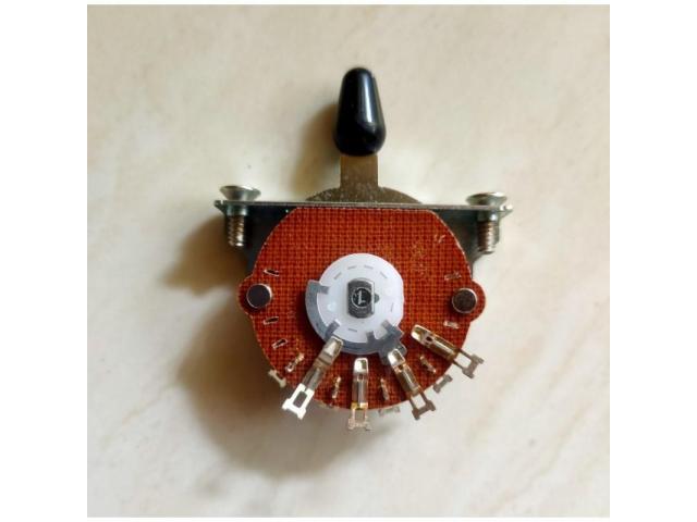 Chave Seletora Telecaster 3 Posições Oak Grigsby Padrão Fender - 2/5