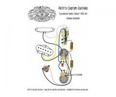 Chave Seletora Telecaster 3 Posições Oak Grigsby Padrão Fender - Imagem 5/5