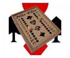 Caixa Para Baralho  Marcador de Jogo Truco em Mdf Cru