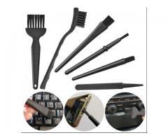 Kit de Pincel Escova Anti Estático Manutenção Computador, Notebook, Placa, Celular, Xbox, PS4 etc