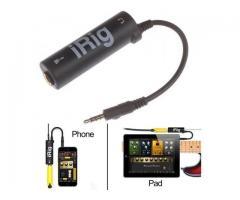 Interface de Áudio p/ Fazer Live Youtube Irig p/ Celular Android e Iphone