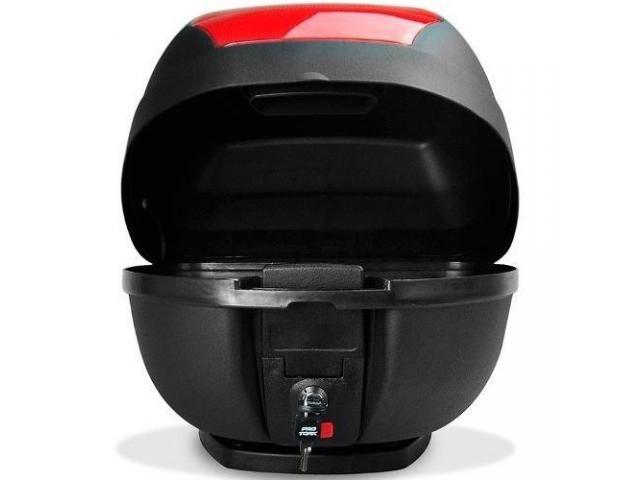 Baú Bagageiro  Bauleto Moto 28 Litros Modelo Smart Box - 1/4