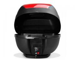 Baú Bagageiro  Bauleto Moto 28 Litros Modelo Smart Box