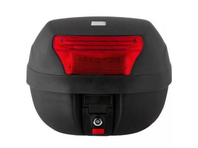 Baú Bagageiro  Bauleto Moto 28 Litros Modelo Smart Box - 2/4