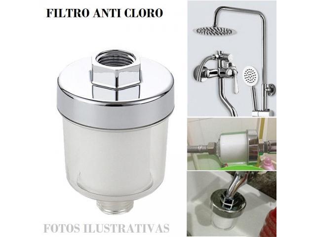 Filtro Anti Cloro Chuveiro Aquario Torneira - 1/6