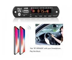 Placa Bluetooth Decodificador Amplificada 50W 2x25w Pendrive Mp3 Bluetooth 5.0/USB s/ Fio - Imagem 4/6